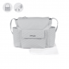 BOLSO MATERNAL INES GRIS