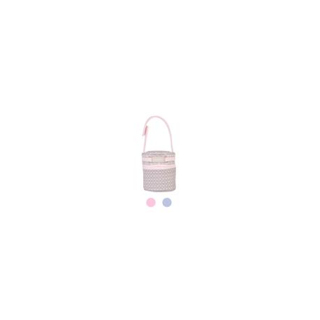 PORTACHUPETE SLOWLY ROSA-GRIS