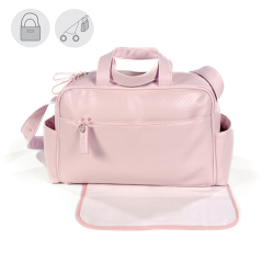 BOLSO MATERNAL NEW COTTON ROSA