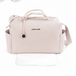 BOLSO MATERNAL BISCUIT ROSA PASITO