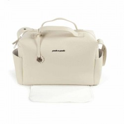 BOLSO MATERNAL BISCUIT BEIGE PASITO