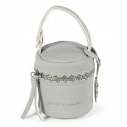 FUNDA CHUPETE BISCUIT GRIS
