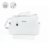 BOLSO MATERNAL BISCUIT BLANCO